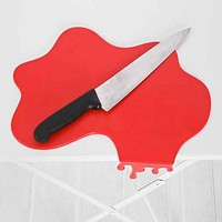 Splash Cutting Board- Red One