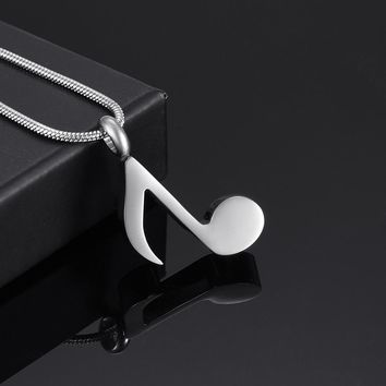 IJD9875 High Polished Blank Stainless Steel Women High-heeled Shoes Cremation Urn Pendant Engravable Memorial Ashes Jewelry