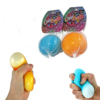 Micro bead squishy stress ball