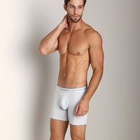 Calvin Klein Athletic Boxer Brief Silver Grey U1735-4SG at International Jock Underwear & Swimwear