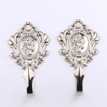 Decorative Wall Hooks Drapery Curtain Accessories