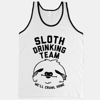 Sloth Drinking Team