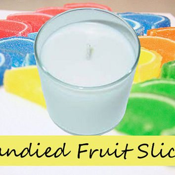 Candied Fruit Slices Scented Candle in Tumbler 13 oz