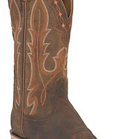 Ariat® Hotwire™ Men's Weathered Brown Dual Pro DW Punchy Square Toe Western Boots