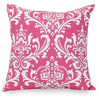 Hot Pink French Quarter Extra Large Pillow