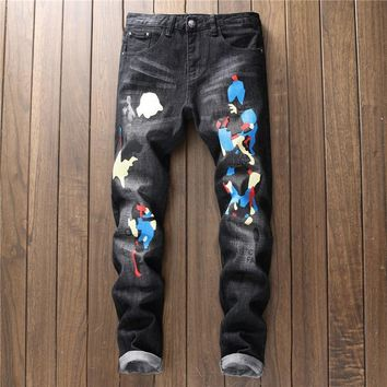 Print Fashion Stretch Pants [1563338997853]