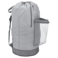 Backpack Laundry Bag - Gray - Room Essentials™