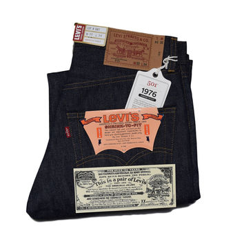 Levis Vintage Clothing 1976 501 Rigid