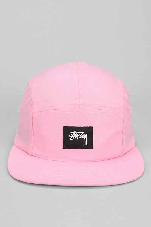 55ea1137cb89f Stussy Nylon Neon 5-Panel Hat- Pink One from Urban Outfitters