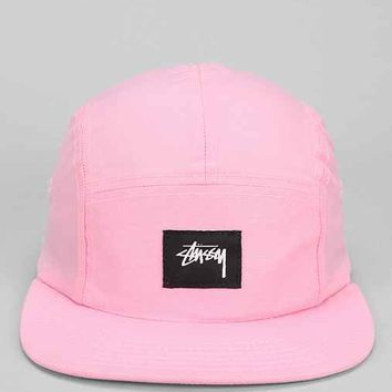 Stussy Nylon Neon 5-Panel Hat- Pink One