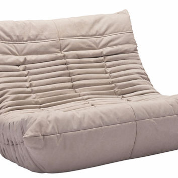 Jetson II Apartment Size Sofa BEIGE