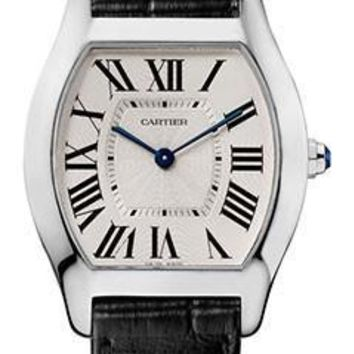 Cartier - Tortue Medium - White Gold