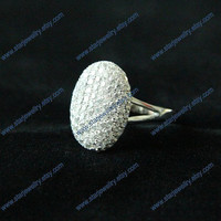 Beautiful Bella Ring twlight Bella engagement ring with109pcs H&A crystal ---925sterling silver 003version