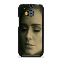 Adele Potrait Face Hello Actress HTC One M8 Cases