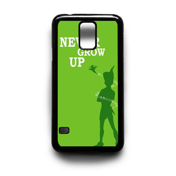 Peter Pan Never Grow Up Samsung Galaxy S3 S4 S5 Note 2 3 4 HTC One M7 M8 Case