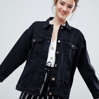 Monki Oversized Denim Jacket at asos.com