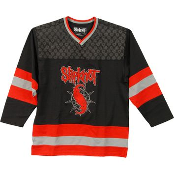 Slipknot Men's  Goat Hockey Jersey Black