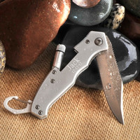 Klondike Folding Knife with Flashlight