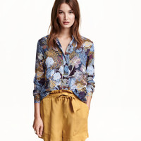 H&M Flared Blouse $19.99