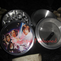 Star Wars Action Scene 4 Piece Grinder Herb Spice Aircraft Grade Aluminum C.N.C from Cognitive Fashioned