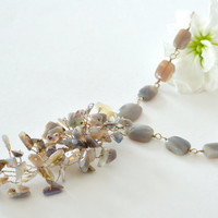 SALE  Fabulous Opal Necklace by luxurybyvera on Etsy