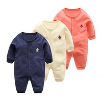 Cotton Baby Rompers Autumn Newborn Baby Clothes Spring Baby Boy Clothing Roupa Infant Jumpsuits Cute Baby Girls Clothes