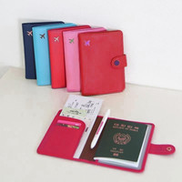 Travel Organizer Passport Holder Protector Cover Card Case