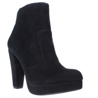 Steve Madden Rancee High Heel Platform Ankle Booties, Black, 6.5 US