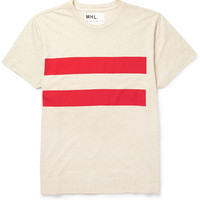 Margaret Howell - MHL Striped Cotton-Blend T-Shirt | MR PORTER