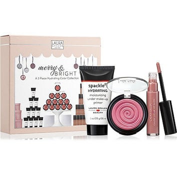 Online Only Merry & Bright 3 Piece Hydrating Color Collection