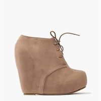 Block Wedge - Taupe