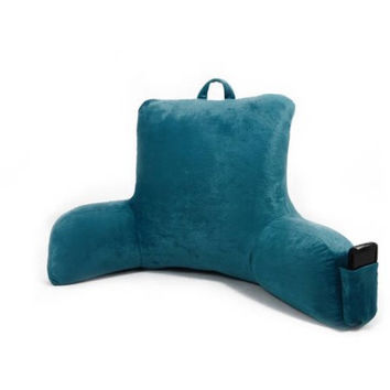 Micro Mink Backrest with Pocket Bed Pillow with Arm Rests
