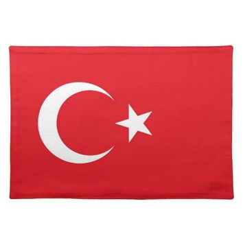 Turkish Flag on MoJo Placemat