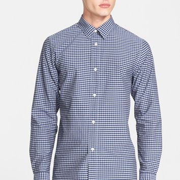 Men's A.P.C. Extra Trim Fit Gingham Sport Shirt,