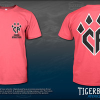 Neon Pink Claw Tshirt