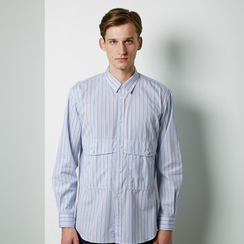 Cargo Pockets Striped Shirt by Comme des Gar amp;amp;#231;ons Shirt Man