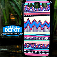 Samsung Galaxy S3 SIII Tribal Pastel Multi Color Print  Case Samsung Galaxy S3 2203