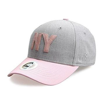 Riorex Baseball Cap Boys Cotton Yarn Hat Adjustable Unisex, Black or Pink Cap (Black)