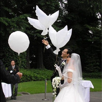 White Dove Birds Wedding Balloons Party Memorial Ceremony Birthday Decoration [7983357447]