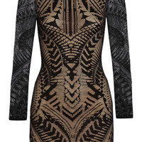 Balmain - Crochet-knit mini dress