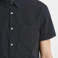 Micro-Dotted Pocket Shirt | 21 MEN - 2000076789
