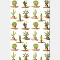 Trendy Cactus Watercolor Pattern iPhone 5 Cases | Artist : Seema Hooda