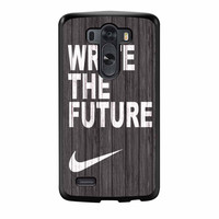Nike Write Future Wood LG G3 Case