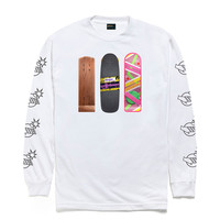 Back to The Hundreds - Generations Long Sleeve - White
