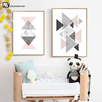 Geometry Abstract Nordic Poster Prints Minimalist Wall Art Canvas Painting Modern Picture Home Decor Room Decoration