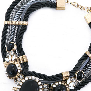 Marina Rope Statement Necklace