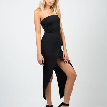 Fishtail Tube Dress
