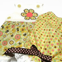 Baby Girl Clothes - Baby Summer Outfit -  Honey Bees