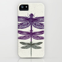 Dragonfly  iPhone & iPod Case by rskinner1122