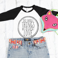 Great Love Baseball Tee